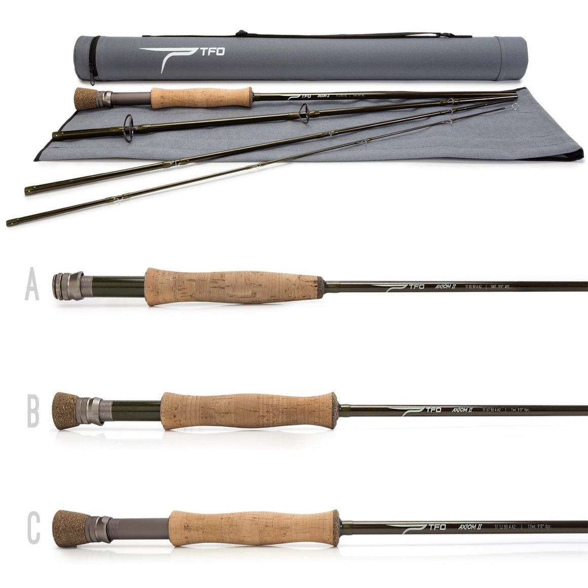 TFO Axiom 2 Series Fly Rods