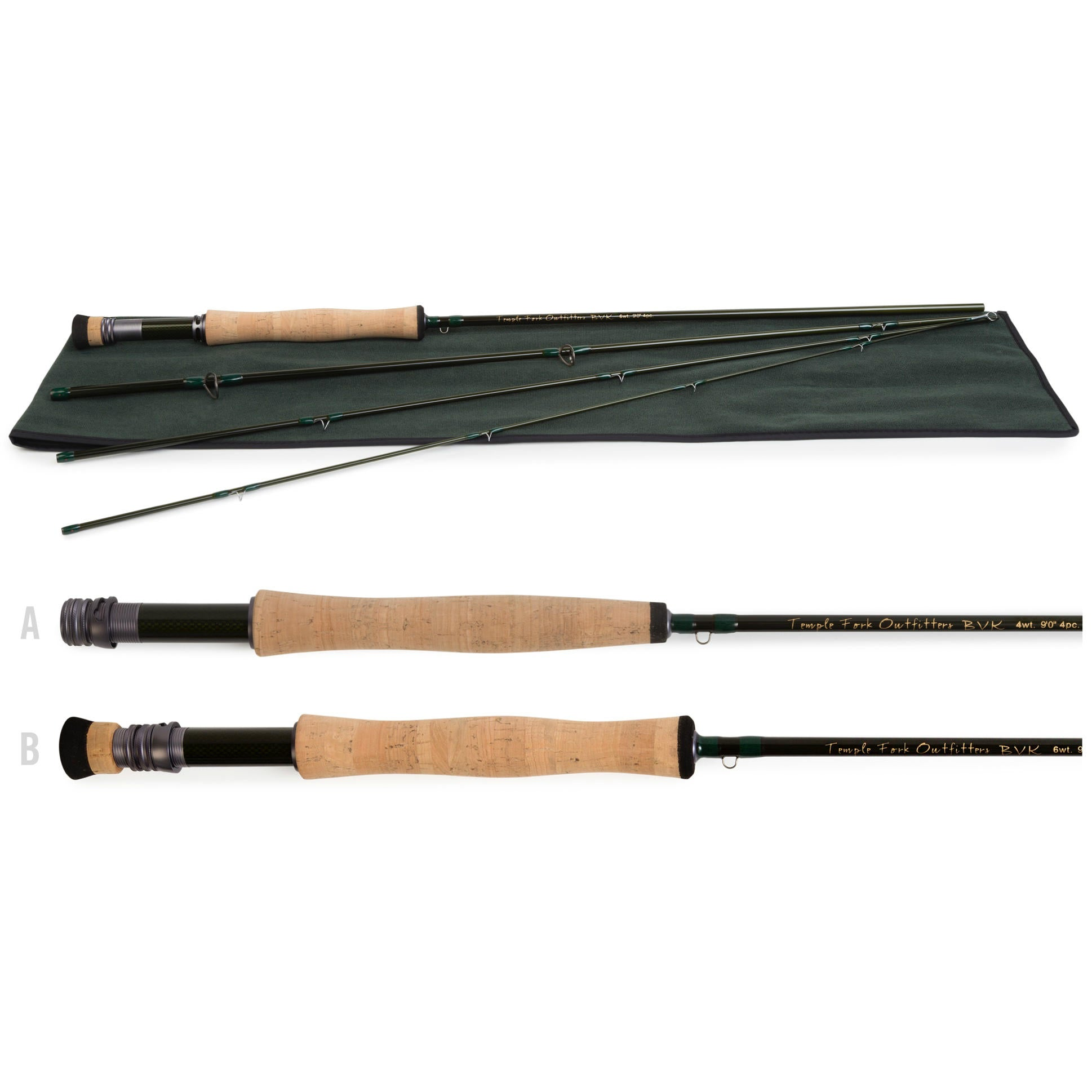 TFO BVK Series Fly Rods