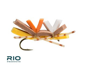 Rio Freshwater Fly - Chernobyl Ant #8 Brown & Gold