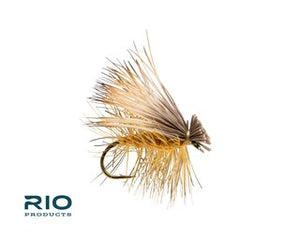 Rio Freshwater Fly - Elk Hair Caddis #14 Tan