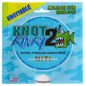 Knot 2 Kinky Nickel-Titanium Leader Wire