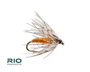 Rio Freshwater Fly - Partridge Soft Hackle #14 Orange                                           (U.S Only)