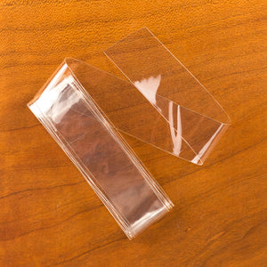 "Wide 3/4"" Stretchy Fly Skin - Clear"
