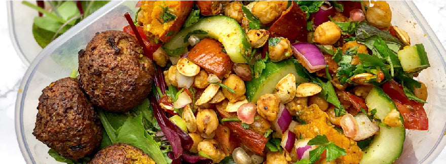 Roasted Pumpkin & Chickpea Salad