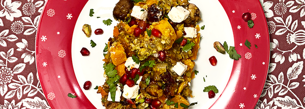 Persian Nut Roast | Gluten Free
