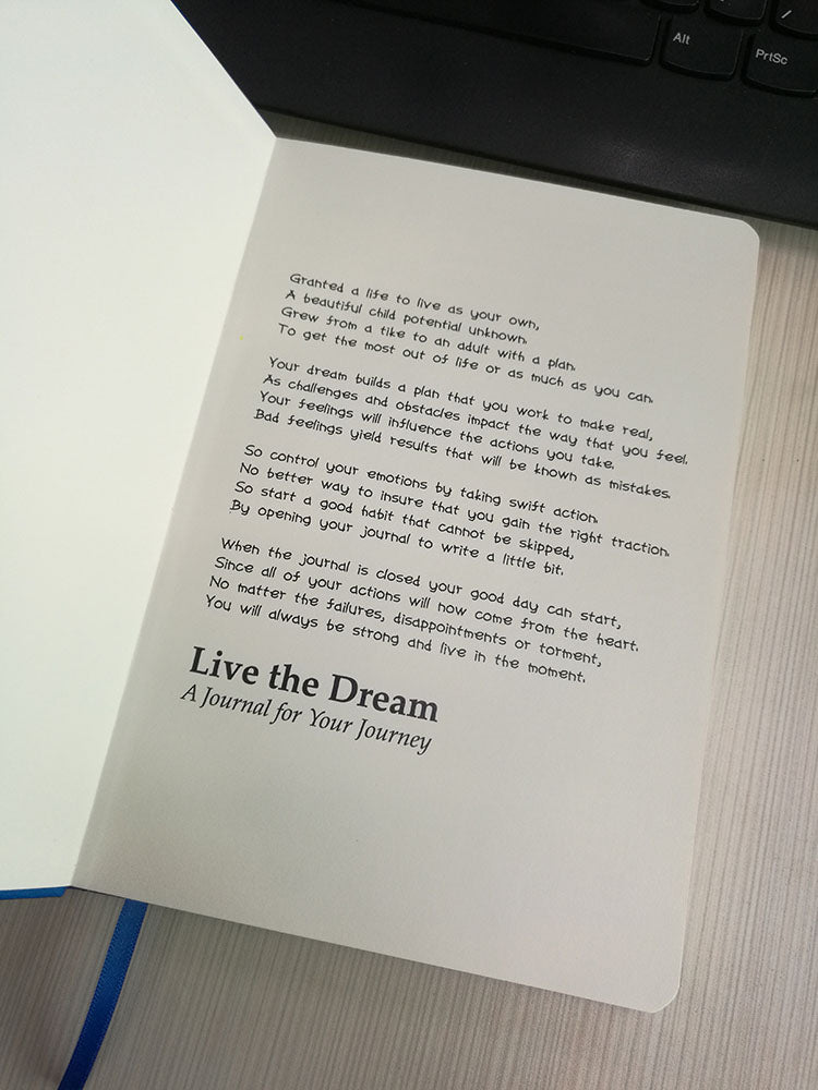 Live the Dream Journal - Infinite Reminders