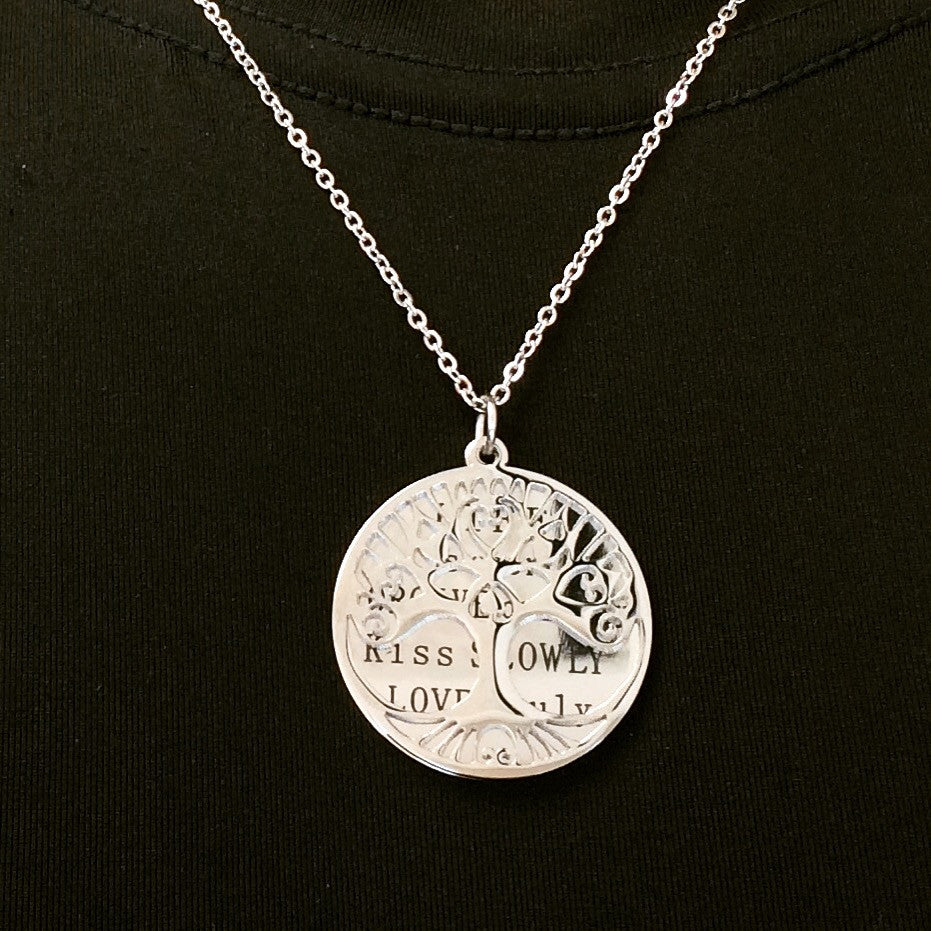 A Tree of Life Pendant - Infinite Reminders