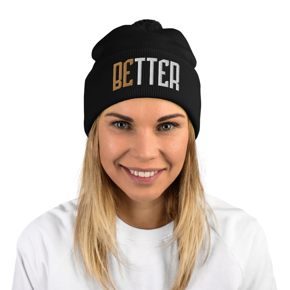 Better Pom-Pom Beanie - Infinite Reminders