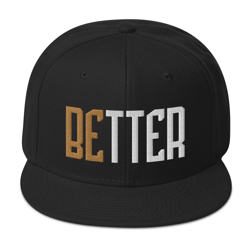 Better Snapback Hat - Infinite Reminders