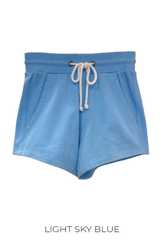 Blue Ultra Soft Basic Shorts