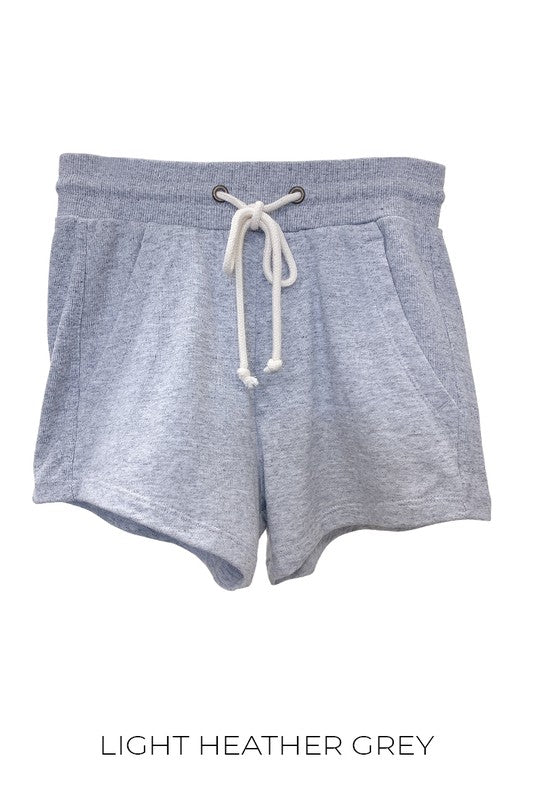 Grey Ultra Soft Basic Shorts