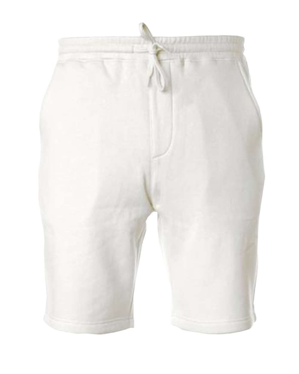 White Fleece Shorts