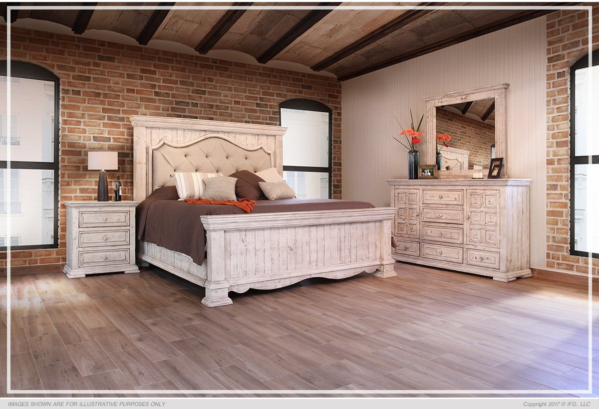 Bella Tufted King Size Bed