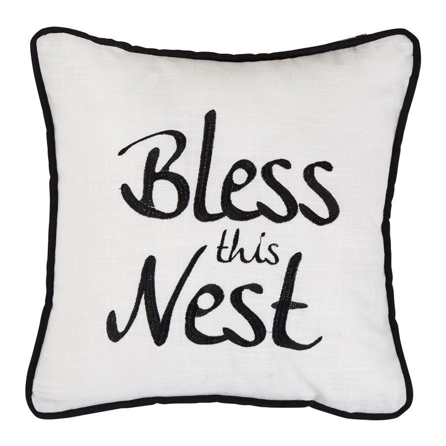 Bless This Nest Pillow 18x18