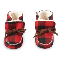 Buffalo Check Booties
