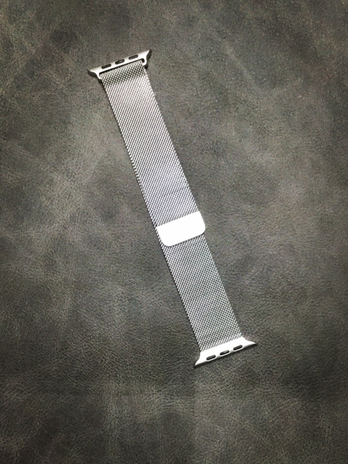 Silver Magnetic Watch Band