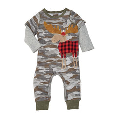 Camo Moose One Piece