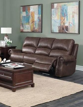 Mackenzie Chocolate Brown Motion Sofa