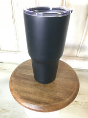 Flat Black 30 oz Our Cups