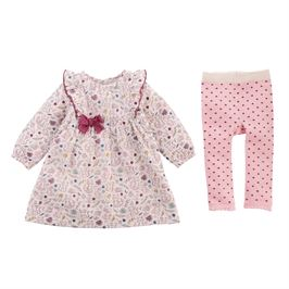 Forest Muslin Dress Set