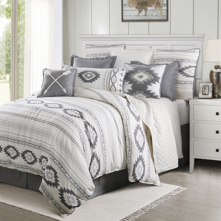 Free Spirit 4 PC Comforter Set - Super Queen