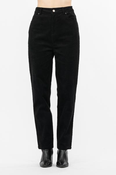 Helga Corduroy Pants - Black