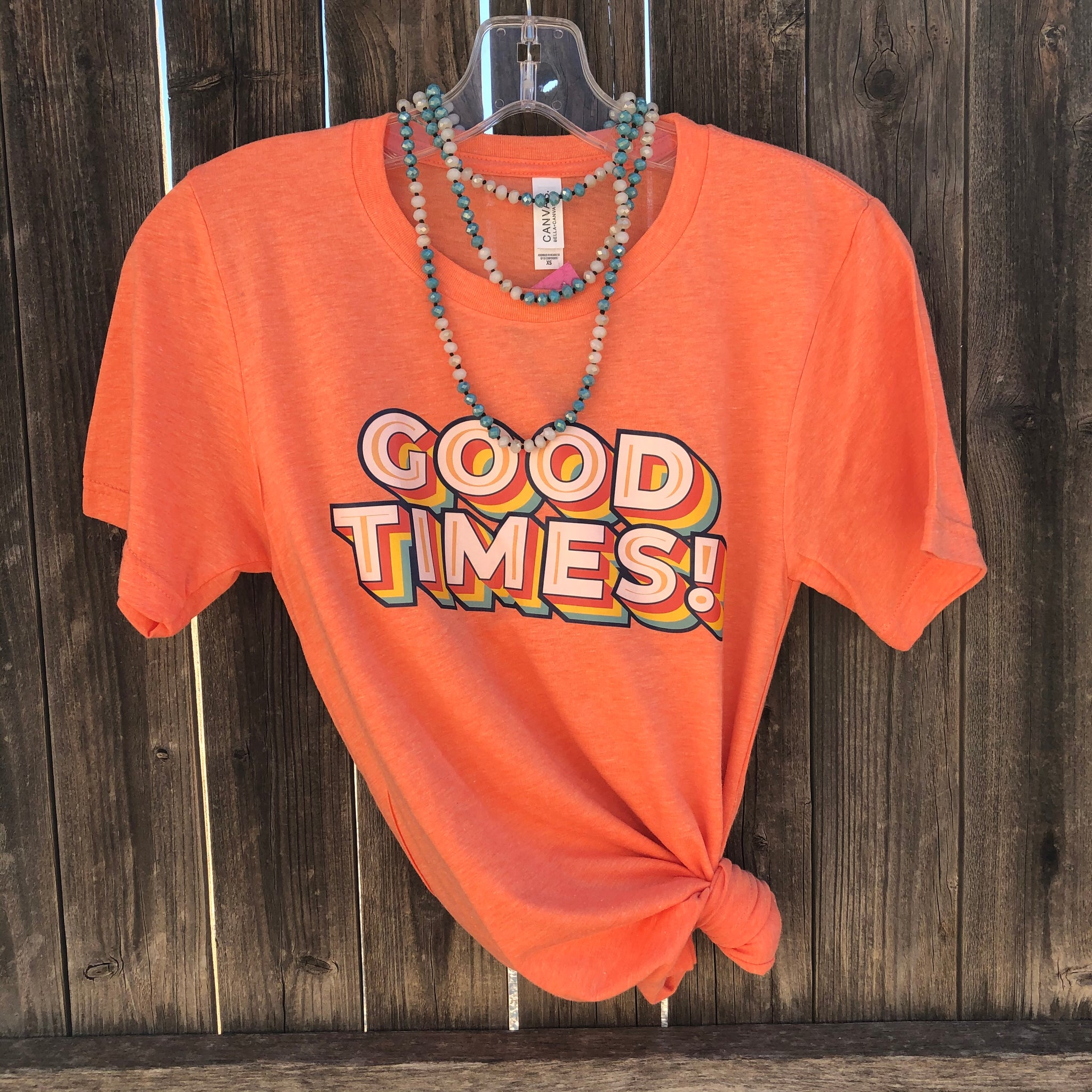 Good Times Tee - Bright Orange