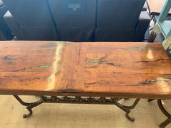 Entry or Sofa Table with Inlay