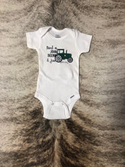 Raised on John Deere & Jesus-White