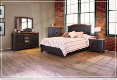 Pueblo Queen Bed - Black