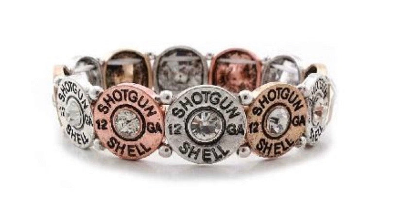 Mixed Shotgun Bullet Bracelet