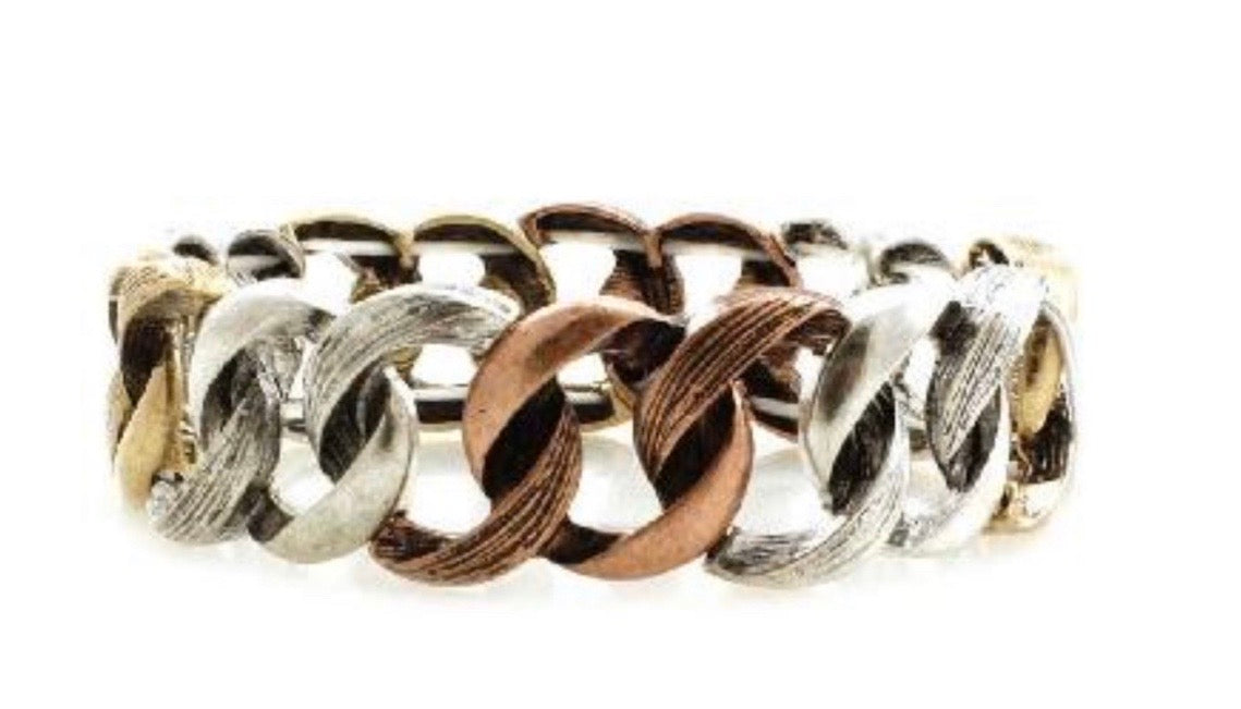 Mixed Twist Texture Bracelet