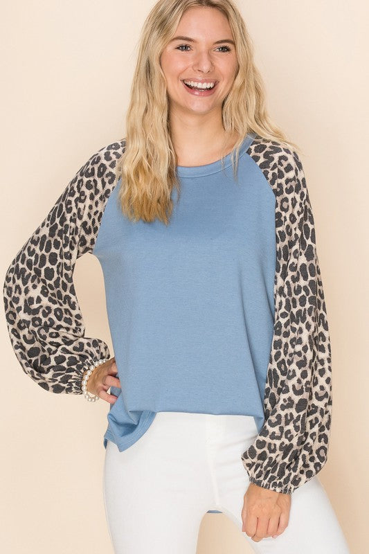 Kaisley Top- Blue