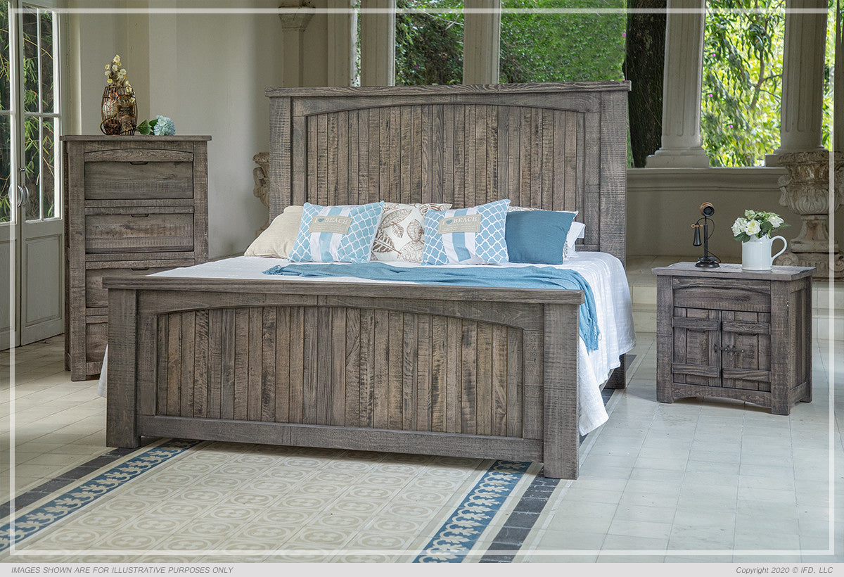 San Antonio Collection King Size Bed