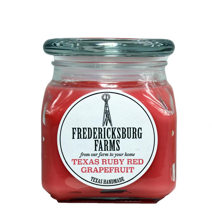 Fredericksburg Farms Texas Ruby Red Grapefruit Candle