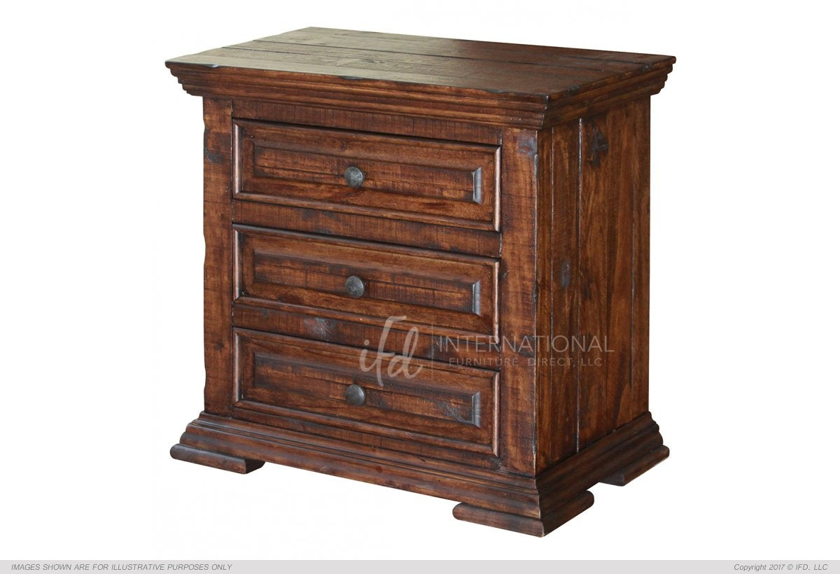 Terra Nightstand- Brown