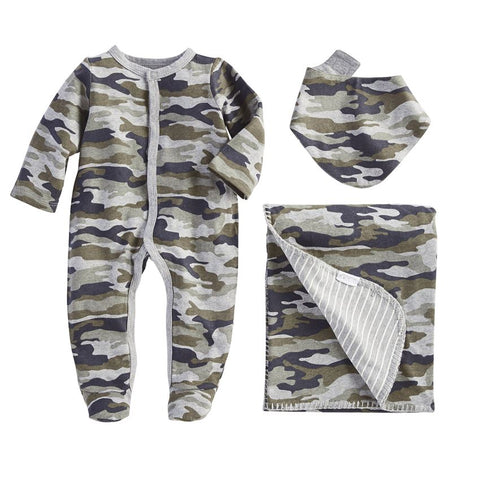 Camo sleeper set