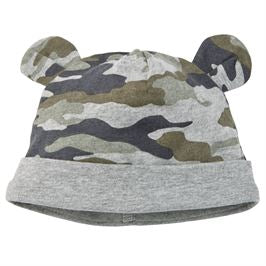 Camo Bootie and Cap Set