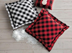 Quilted Buffalo Check Pillow
