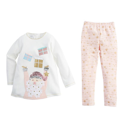 Santa Tunic and Legging Set