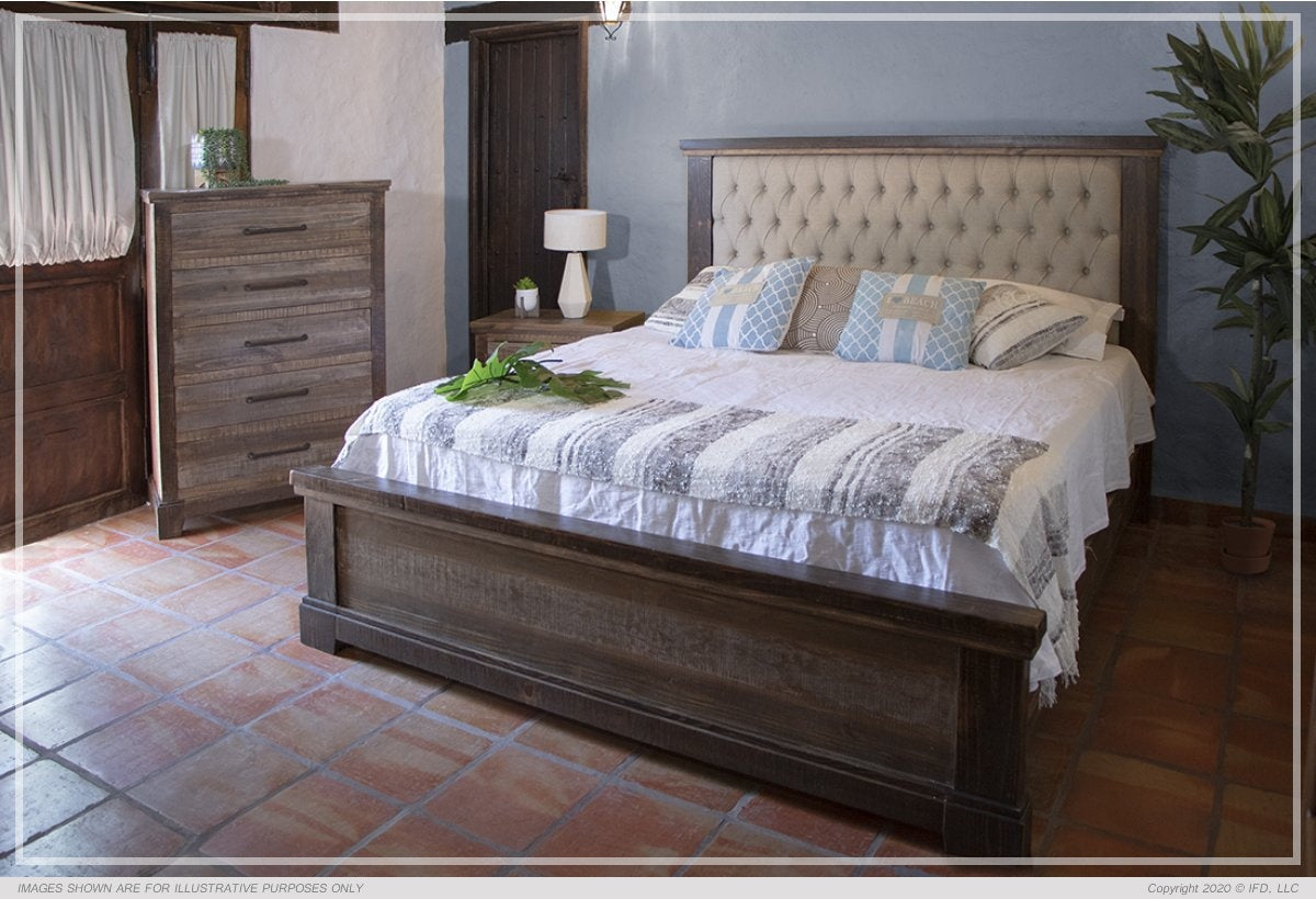 Santa Clara Collection King Size Bed