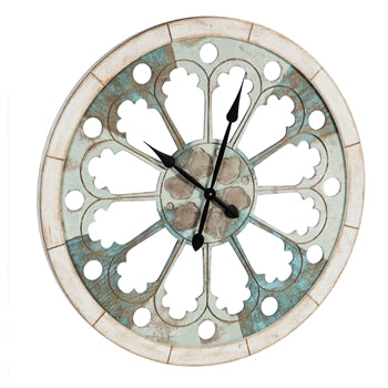 Cayman Scalloped Clock