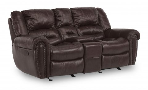 Town Reclining Loveseat - Glider Cloth