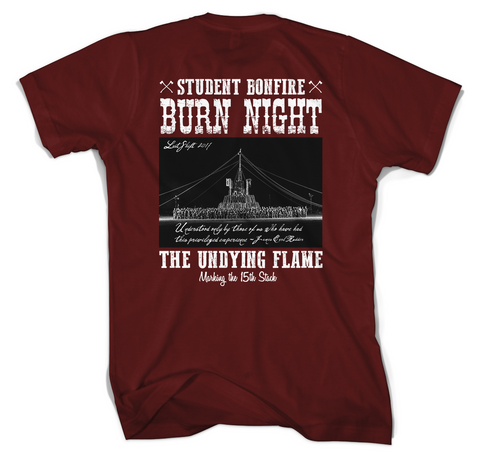 Burn Night 2017, Back