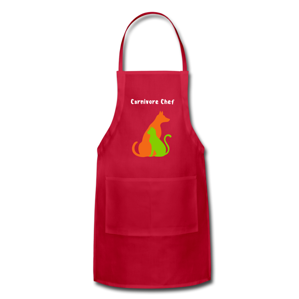 Carnivore Chef Apron - red