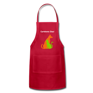 Carnivore Chef Apron - Large Pockets and Adjustable