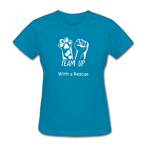 Team Up with a Rescue Women's T-Shirt