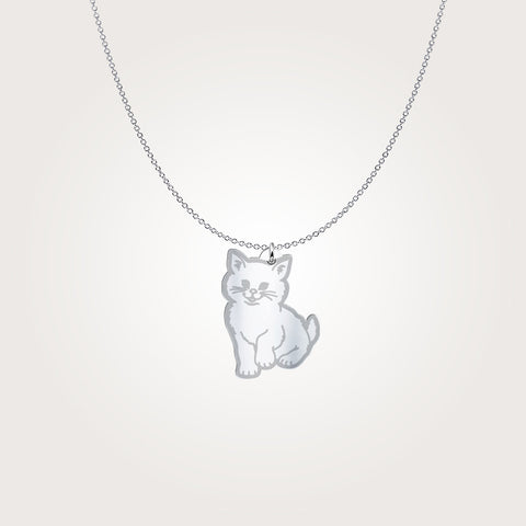 Image of Cute Cat Necklace