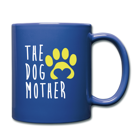 The Dog Full Color Mug - royal blue