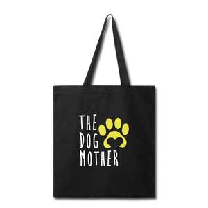 The Dog Mother Tote Bag - black